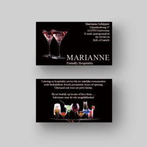 marianne visitekaartje voorbeeld